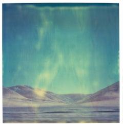 Blue Mountains (analog) 58x56cm - mounted, Edition 1/10 - Polaroid, 20th Century