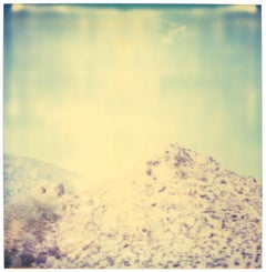 Blue Mountains (Wastelands) - Polaroid, Contemporary, Landscape