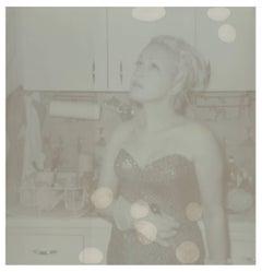 Bubble Dreams Bursting (Cyndi Lauper) - record cover shoot, Artist Proof 1/2
