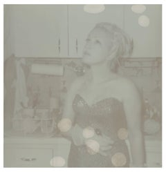 Bubble Dreams Bursting (Cyndi Lauper) - record cover shoot, Artist Proof 1/2