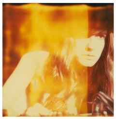 Burning - Contemporary, Figurative, expired, Polaroid, analog