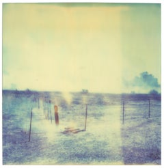 Burning Field III (Last Picture Show) - mounted - Polaroid, Contemporary