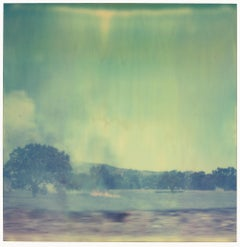 Burning Field IV (Last Picture Show) - Polaroid, Contemporary