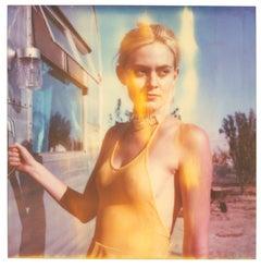 Caitlin aka Jane Bond III Heavenly Falls - based on a Polaroid Original
