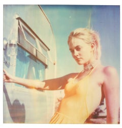 Caitlin - Contemporary, Portrait, Women, Polaroid, 21st Century, Color