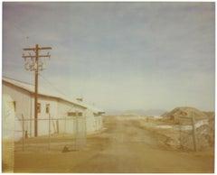 California Depression (California Badlands) - Contemporary, Polaroid, Landscape