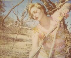 Circle of Magic - A Wish II (29 Palms, CA) - Polaroid, 21st Century, Contemporar