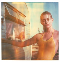 Impregnable - Contemporary, 21st Century, Polaroid, Figurative Photograph, Woman