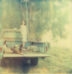 Contemporary, 21st Century, Polaroid, Figurative Photograph, Woman, Schneider,