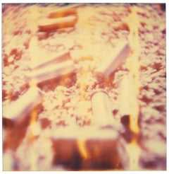Shells (Wastelands) - Contemporary, Abstract, Landscape, Polaroid, 21st Century