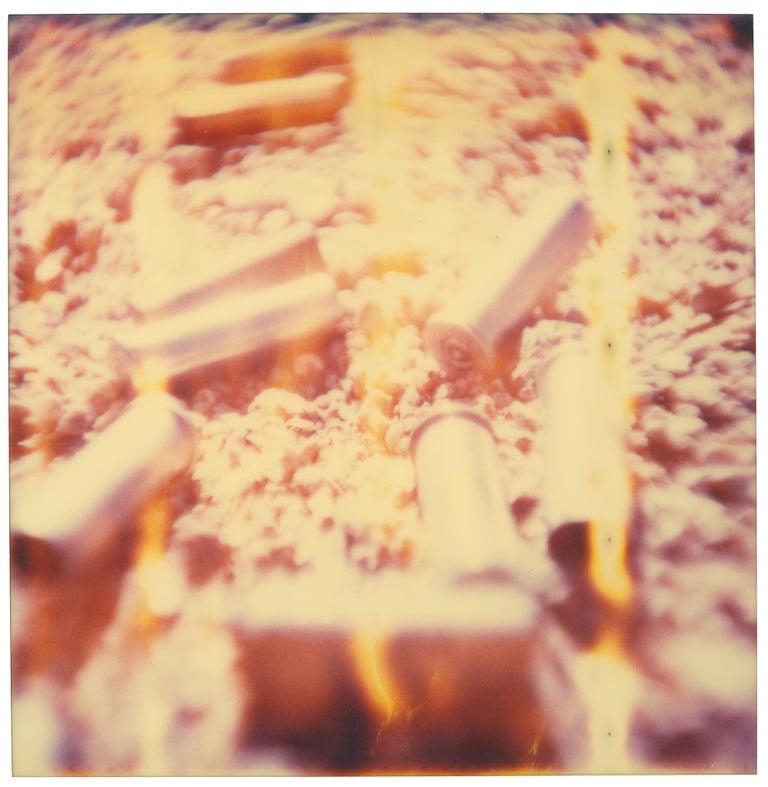 Stefanie Schneider Color Photograph - Shells (Wastelands) - Contemporary, Abstract, Landscape, Polaroid, 21st Century