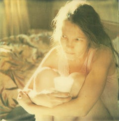 Contemporary, Analog, Expired, Polaroid, Photograph, Figurative, Woman, Film