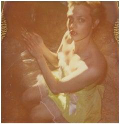 Contemporary, analog, Polaroid, photograph, 21st Century, Figurative, Woman