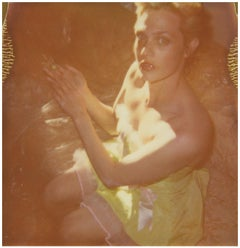 Contemporary, analog, Polaroid, photograph, 21st Century, Figurative, Woman