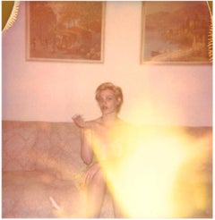 Contemporary, Expired, Polaroid, Photograph, Figurative, Woman, 21st Century,