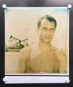 'Untitled' (Oilfields) - Figurative, expired, Polaroid, analog, 21st Century