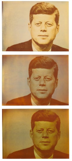 Kennedy - 3 Original Polaroids - Contemporary, Portrait, USA, 20th Century, hope