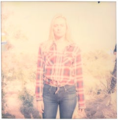 Country Girl (Back in the 80's) - Polaroid, Contemporary, Women, 21st Century