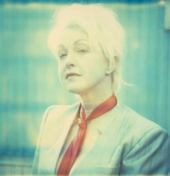 Cyndi Lauper, Contemporary, Figurative, woman, expired, Polaroid, photograph,