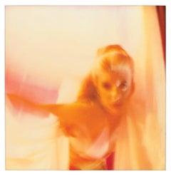 Dancer - Contemporary, nude, portrait, figurative, Polaroid, photograph, expired