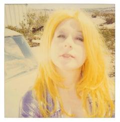 Desert Junk Yard - Contemporary, Portrait, Women, Polaroid, 21st Century, Color