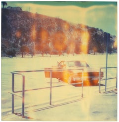 Dodgers Stadium, Echo Park - Polaroid, Landscape, 20th Century, Contemporary
