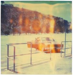Dodgers Stadium, Echo Park - Polaroid, Landscape, 21st Century, Contemporary