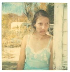 Dust Bowl Weary (Wastelands) - Polaroid, Expired. Contemporary, Color