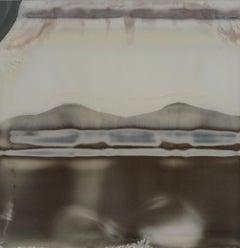 Earthquake (Deconstructivism) - Contemporary, Expired Polaroid