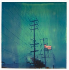 Emser - Contemporary, Abstract, Landscape, Polaroid, Blue, Los Angeles, Color