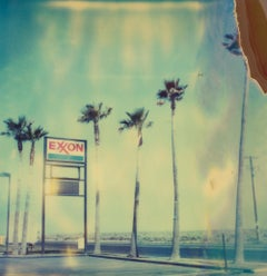 Exxon II - Original Polaroid Unique Piece - 20th Century, Contemporary, Color