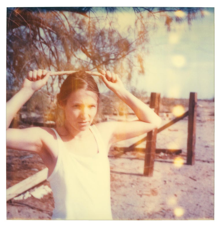 Stefanie Schneider Color Photograph - Fabien II (Last Picture Show) - Polaroid, Contemporary, 21st Century