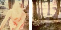 Fairytales - diptych, 128x125cm each - Contemporary, 21st Century, Polaroid
