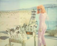 Feathered - Contemporary, 21st Century, Polaroid, Figurative, Photograph, Woman