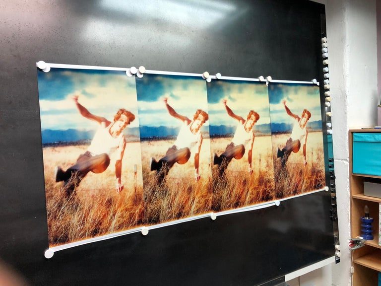 Field of Dreams, Contemporary, Figurative, Polaroid, Photograph, Analog, film For Sale 4