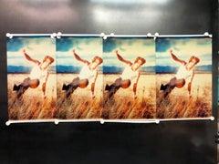 Field of Dreams, Contemporary, Figurative, Polaroid, Photograph, Analog, film