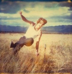 Field of Dreams (Sidewinder), analog, 39x38cm