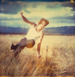 Field of Dreams (Sidewinder), analog, 80x78cm