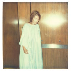 First Steps (Burned) - Self Portrait - Polaroid, Contemporary, 21st Century