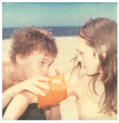 Floaties #3 (Beachshoot) - Polaroid, Vintage, analog, Contemporary