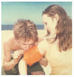 Floaties (Beachshoot) - Contemporary, 21st Century, Polaroid, Figurative