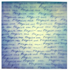 Forgive Me, Contemporary, Abstract, Polaroid, Photograph, 21st Century