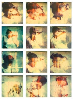 Gestures - 21st Century, Polaroid, Portrait, Contemporary, Self Portrait