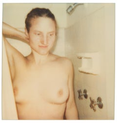 Girl Nude (29 Palms, CA) 50x50cm - Polaroid, Contemporary, 20th Century, Nude