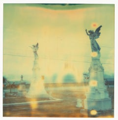 Guadaloupe (Last Picture Show) - mounted, analog, Polaroid, Contemporary, Color