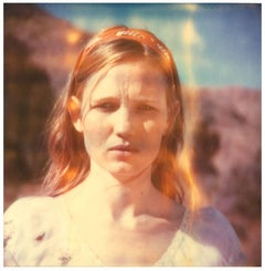 Haley (Haley and the Birds) - Polaroid, analog, Contemporary, Women
