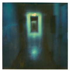 Hallway II  (Suburbia) - Contemporary, Polaroid, Analog, Portrait