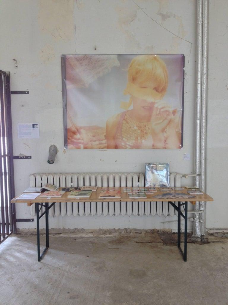 Heather's Dream - Contemporary, Portrait, Women, Polaroid, 21st Century, Color  For Sale 1