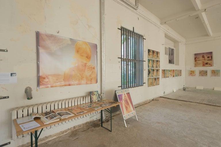 Heather's Dream - Contemporary, Portrait, Women, Polaroid, 21st Century, Color  For Sale 2