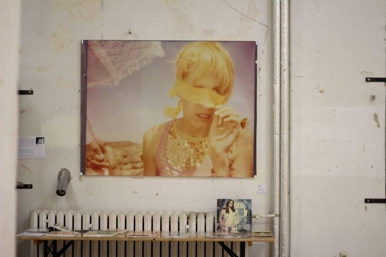 Heather's Dream - Contemporary, Portrait, Women, Polaroid, 21st Century, Color  For Sale 3